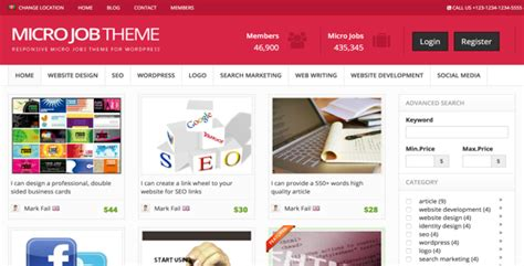 themeforest jobcareer micro jobs theme v8 4 wordpress premiumpress free download