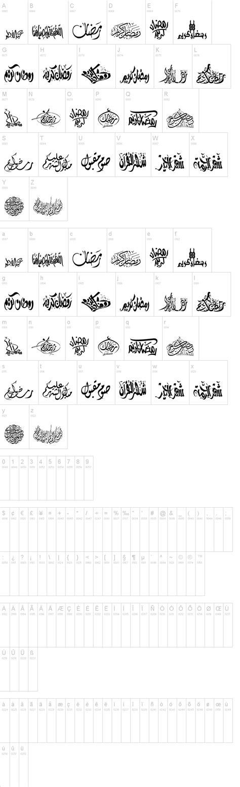 dafont arab felicitation arabic ramadan font dafont com