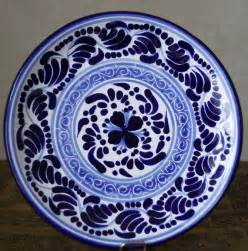How To Paint Ceramic Vase Hernandez Puebla Talavera Pottery Round Plate 8 Smooth