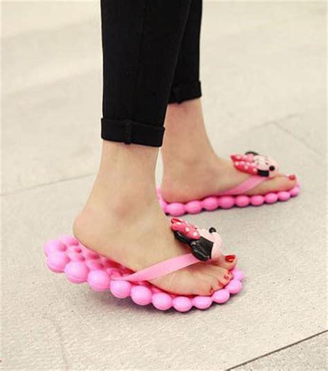 cute comfortable flip flops new 2015 summer women sandal south korea cute cartoon