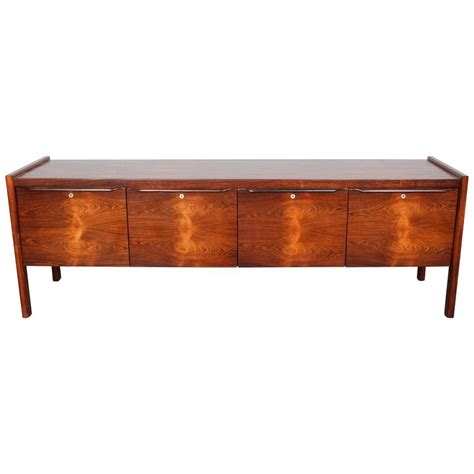 mid century modern file cabinet canadian mid century modern rosewood file cabinet at 1stdibs