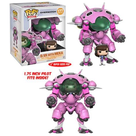 Funko Pop Overwatch Reinhardt 6inc Big Size funko overwatch pop vinyl figure dva blizzplanet overwatch