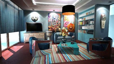 Karpet Bulu Sintetis Ruang Rusa lukisan dinding ini mu permanis berbagai ruangan di