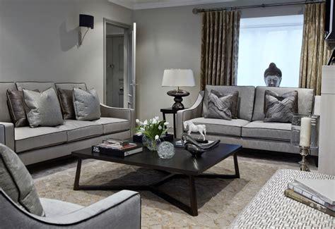 Gray Sofa Decor by 24 Gray Sofa Living Room Designs Decorating Ideas