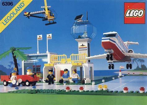 lego airport tutorial 6396 1 international jetport brickset lego set guide