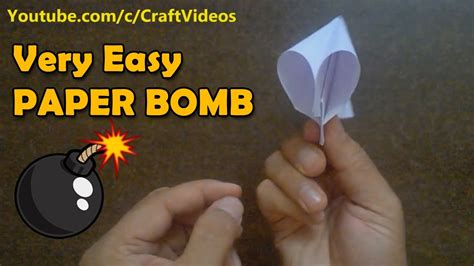 How To Make A Paper Bomb - how to make a paper popper how to make paper bomb