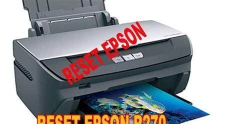 resetter epson r270 rpl edi 231 227 o digital reseter da impressora epson r270