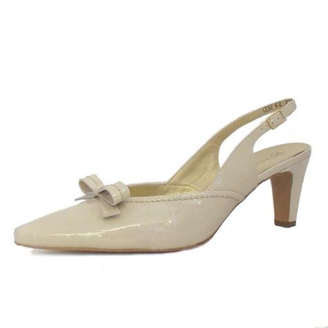 slingback shoes kaiser mezzo crackle patent slingback shoes