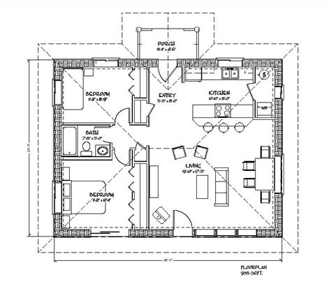 Straw Bail House Plans Cozy Strawbale Plan