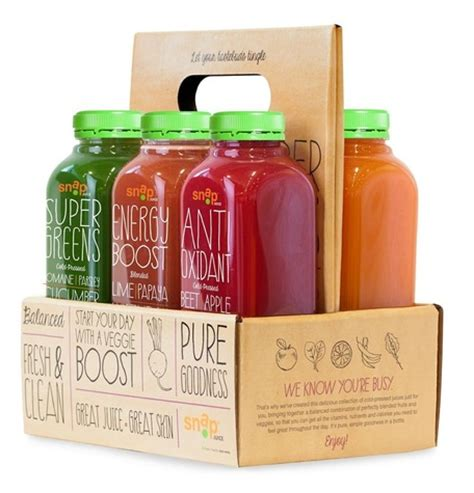 Wow Detox Juice by Snap Kitchen Juice Cleanse Weight Loss Wow