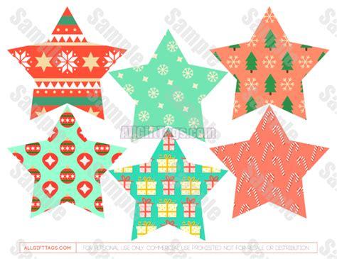 printable star shaped gift tags christmas star gift tags