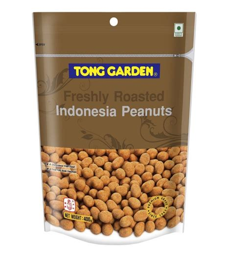 Tong Garden Peanut Crackers 400g tong garden white indonesia peanut 400g premium nuts and