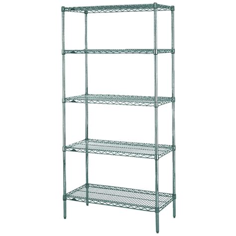 erecta shelving metro 5n517k3 erecta metroseal 3 adjustable wire stationary starter shelving unit 24 quot x