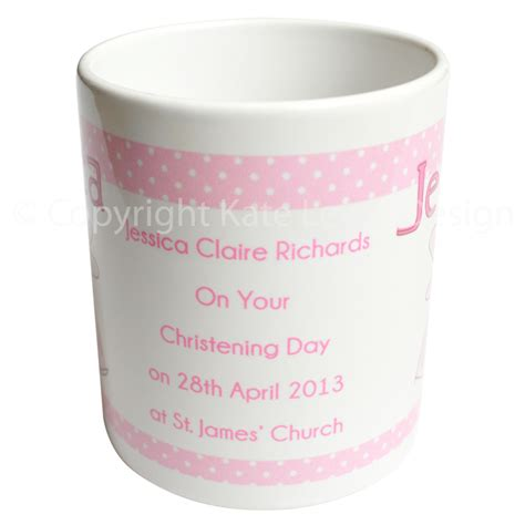 mug design for christening news alert kate lewis design launches her personalised