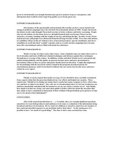 Standard Essay by Standard 5 Paragraph Essay