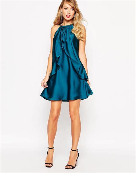 Dress I asos coast marley satin dress satiny