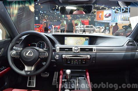 lexus gs350 f sport interior 2016 lexus gs f sport gs450h facelift 2015 frankfurt live