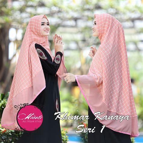 Nihma By Quail supplier branded tangan pertama murah khimar kanaya by modelo