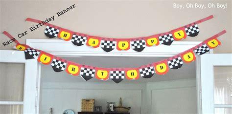 printable cars birthday banner race car birthday banner free printable beatnik kids