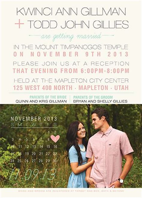 Wedding Announcement Prices by 1000 Images About Lds Wedding Invitations On