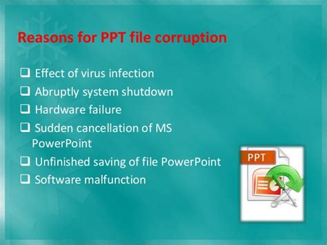 fix your corrupted powerpoint presentation file in few clicks how to repair corrupted powerpoint presentation without
