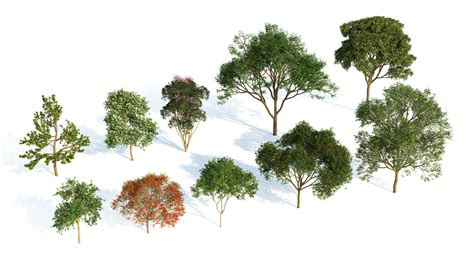 Architectural Model Kits by Laubwerk Introducing Plants Kit 3