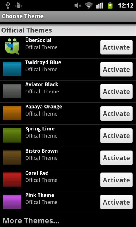 Ubersocial Themes For Android | จาก twidroyd ส ubersocial for android thasnai