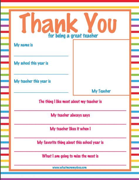 teacher appreciation week letter super cute