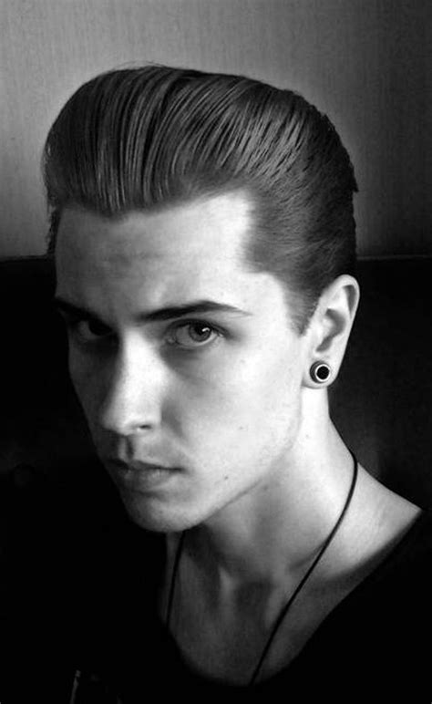 50s pompadour great rockabilly hairstyles for men http hairstylee