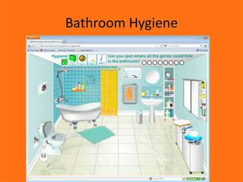 bathroom hygiene ppt personal hygiene powerpoint presentation id 2759813