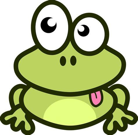 gambar lucu format png gambar vektor gratis katak lidah hewan hijau kartun