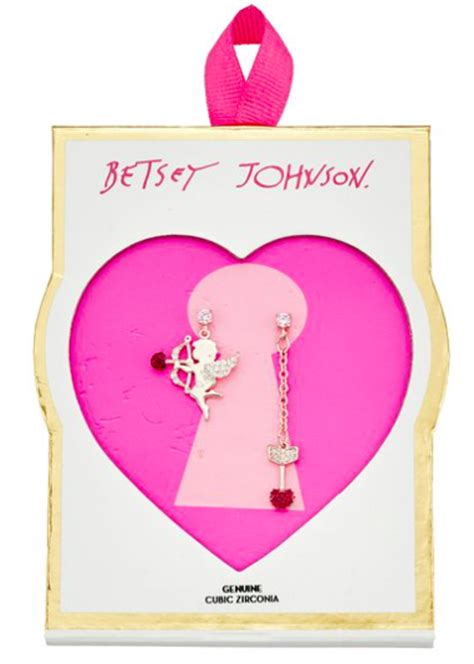 Betsey Johnson For Valentines Day 2 by Betsey Johnson S Day Pave Cubic Zirconia