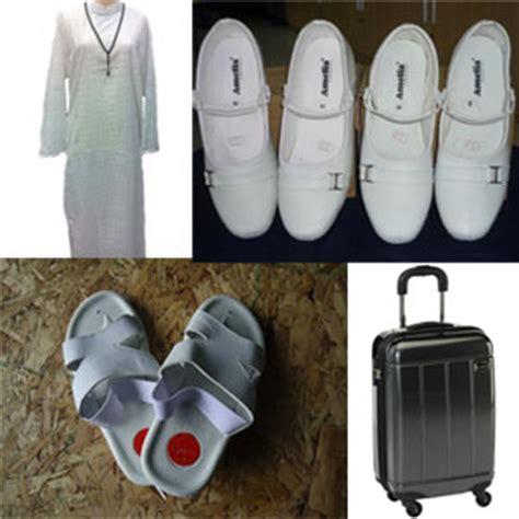 Perlengkapan Haji Dan Umroh Sepatu Tawaf perlengkapan umroh biaya umroh travel umroh terpercaya