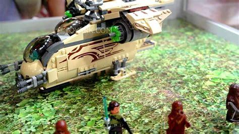 Sale Lego 75084 Wars Wookiee Gunship lego wars 75084 wookiee gunship footage at sdcc 2014