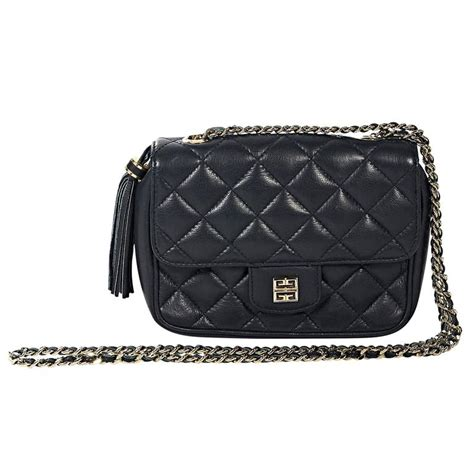 Quilted Crossbody Purse by Navy Givenchy Quilted Leather Crossbody Bag At 1stdibs