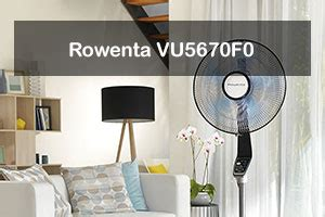 rowenta vu5670f0 turbo silence ventilateurs