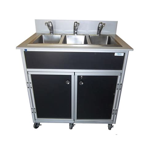 shoo bowl portable self contained sink portable 3 compartment basin sinks monsam portable sinks