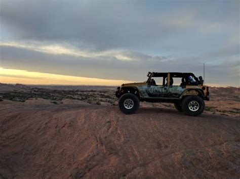 Outlaw Jeep Tours Enjoying A Sunset Trip Picture Of Outlaw Jeep Tours