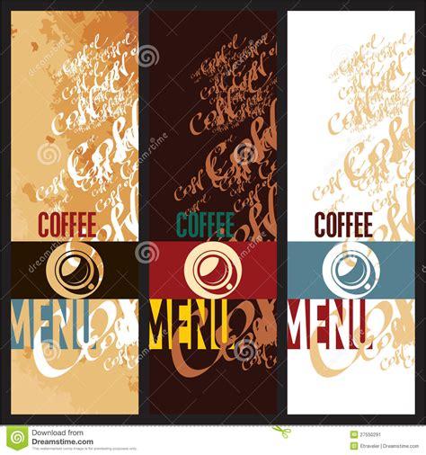design menu coffee coffee menu design templates stock vector image 27550291