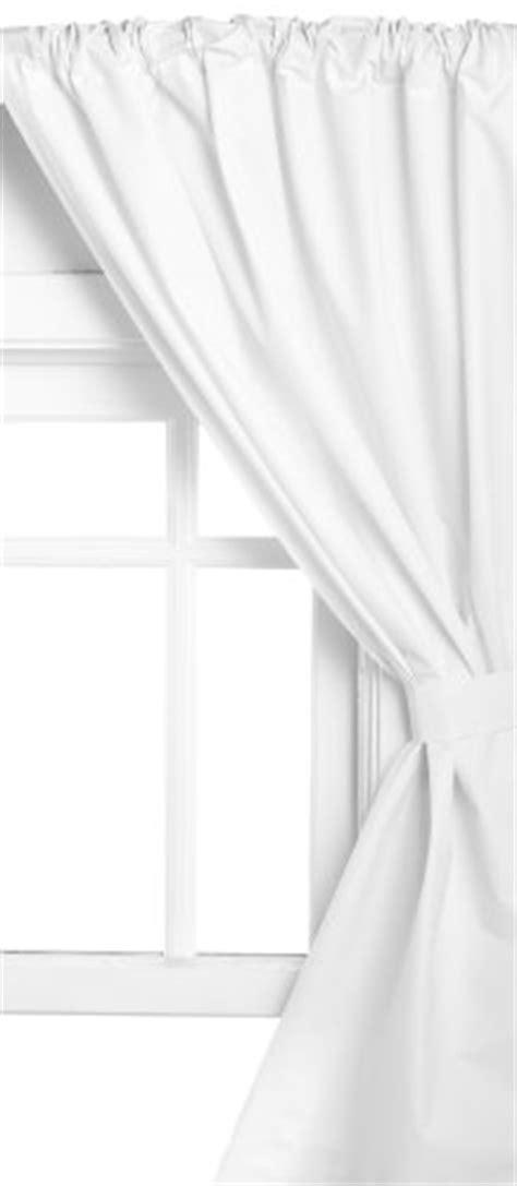 Bathroom Window Curtains White Carnation Home Fashions Vinyl Bathroom Window Curtain