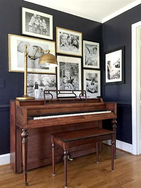 colors for dark rooms 25 best ideas about piano room decor on pinterest piano