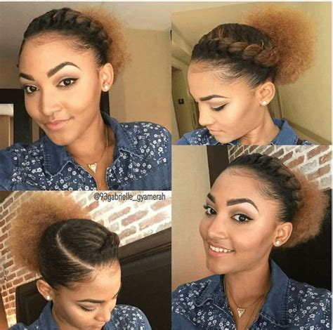 simple hairstyles for relaxed hair 25 unique simple natural hairstyles ideas on pinterest