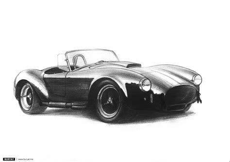 vintage corvette drawing cool pencil drawings of cars imgkid com the image