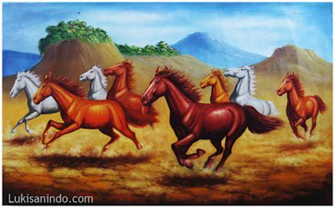 jual lukisan kuda lukisan kuda berlari