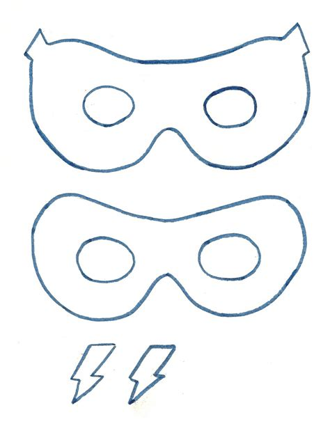 just bunch super easy superhero mask