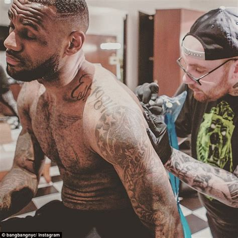 lebron james back tattoo keith mccurdy went from a of poverty to