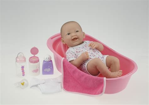 la newborn delixe bath set 14 quot vinyl doll bathtub and
