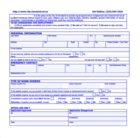 sle civil service application form 8 free documents in pdf