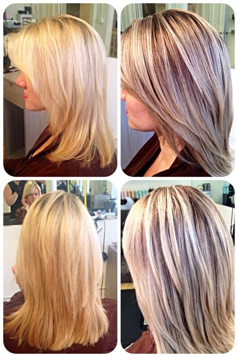 lowlight placement in bleached blond hair 77 best hair by jessica willis at scottfree salon images