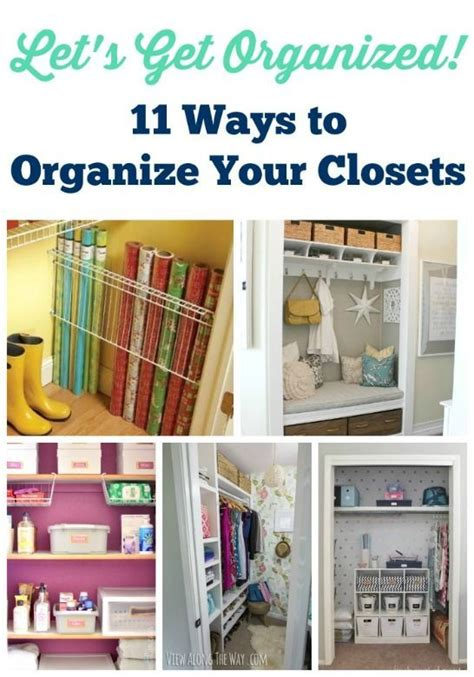 Inexpensive Ways To Organize A Closet by 512 Best Images About Organization Cleaning Tips On